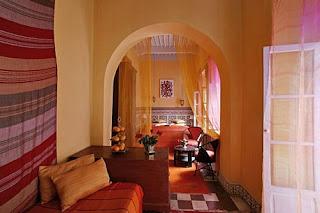 habitación marroqui
