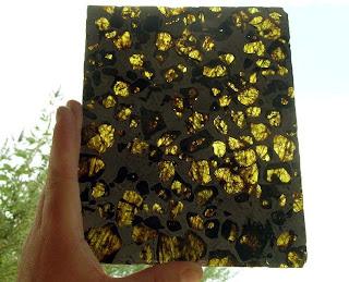 Meteorit Berusia 4.5 Billion Tahun Yang Ditemui Di Fukang, China