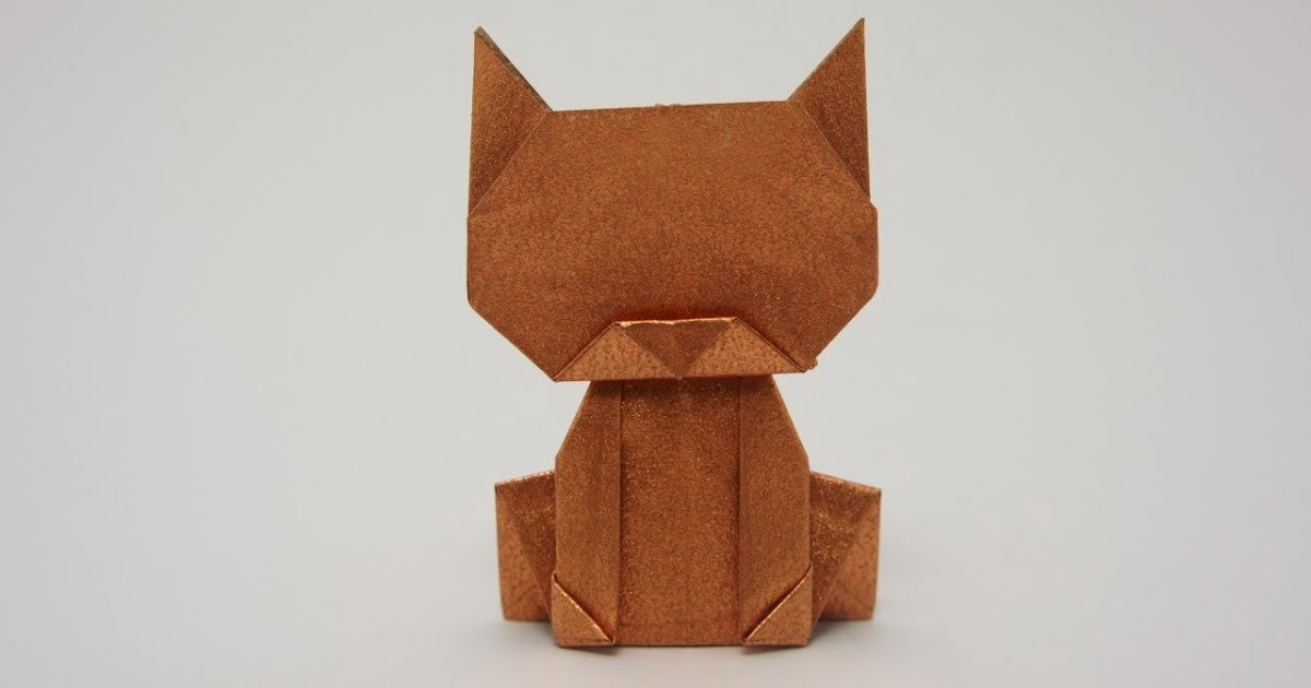 Origami Maniacs Origami Money Cat By Jo Nakashima