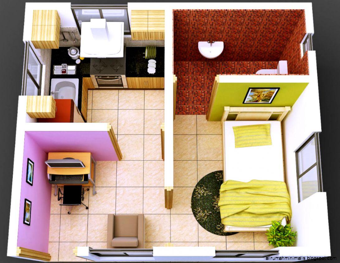 Contoh Desain Interior Rumah Sederhana Minimalis  Rumah Minimalis