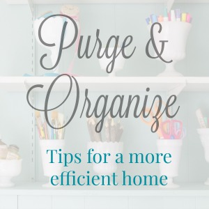 Click for organizing tips