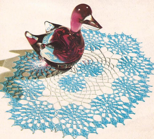 Centro de Mesa a Crochet