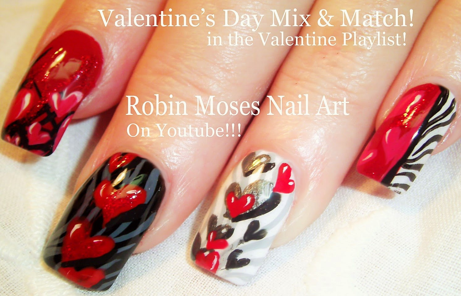 Valentines Day Nail Art A Gallery Of All Of My Nail Art Photos