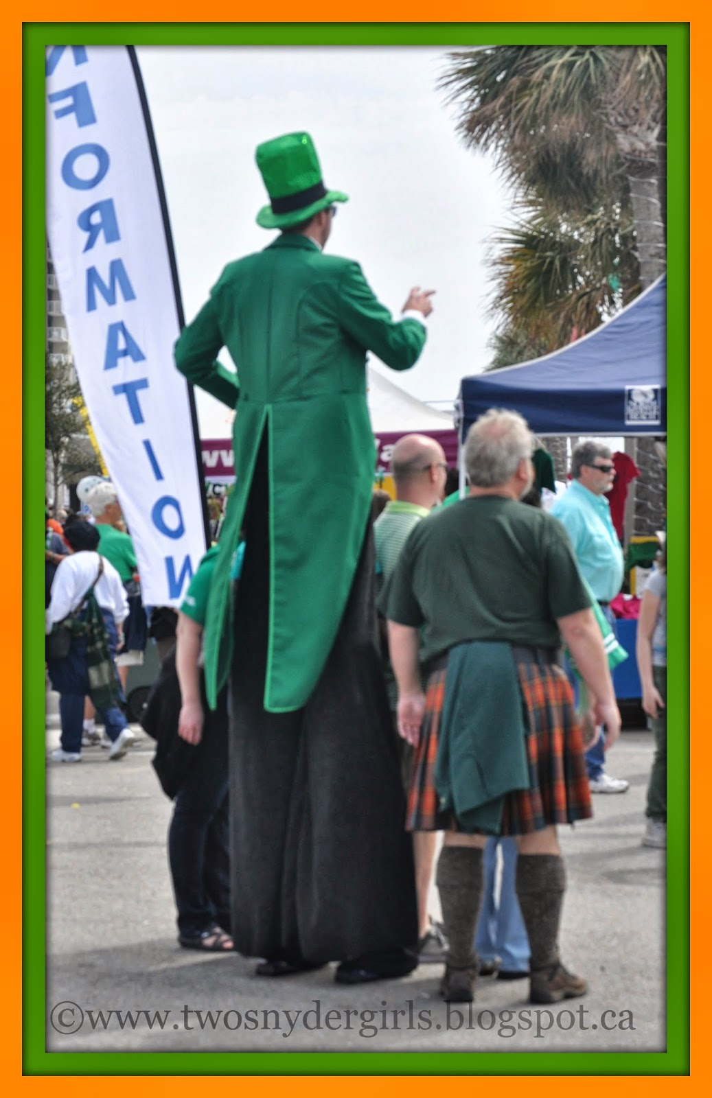 St. Patrick's Day Actor