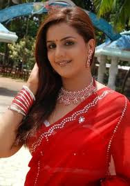Indian Actress in Red sarees