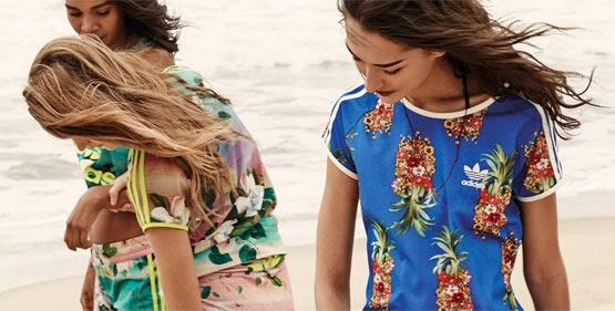 Adidas Originals e Farm coleção 2014 camisetas