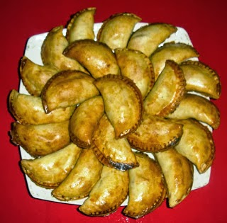 empanadillas, receta, alcachofa, carxofa, recepta, masa