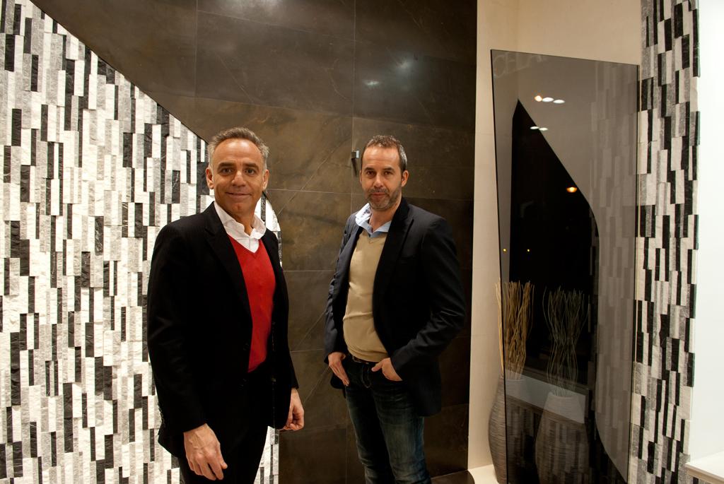 Spirit by a cero en la tienda porcelanosa de madrid - Rafael llamazares arquitecto ...