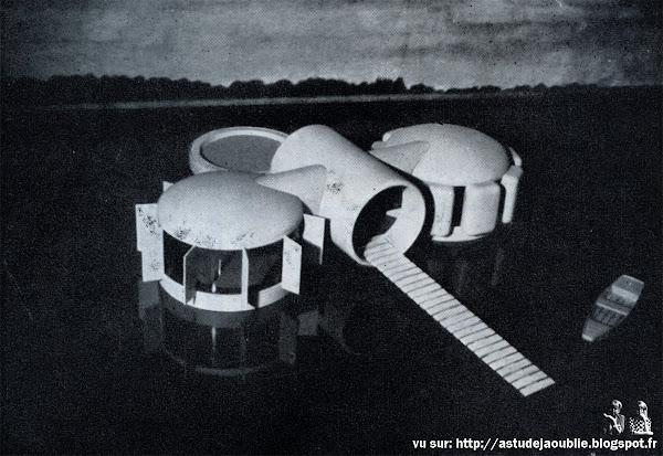 Habitat de Loisirs  Architecte: Jacques Beufé  Projet: 1971