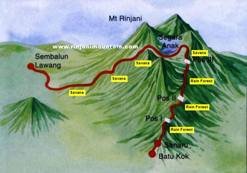 Foto Gunung Rinjani