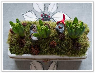 Tre hyacinter i kruka, bild 2