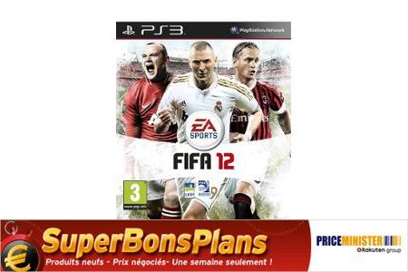 FIFA 12 - PS3 à 27.54€ au lieu de 69.99€