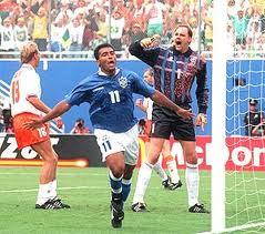 Brasil 3x2 Holanda - 1994
