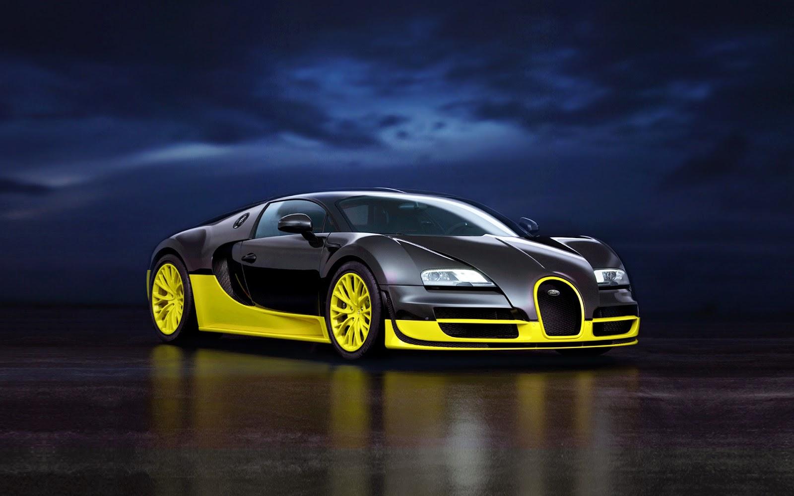 Bugatti Super Veyron HD Wallpaper