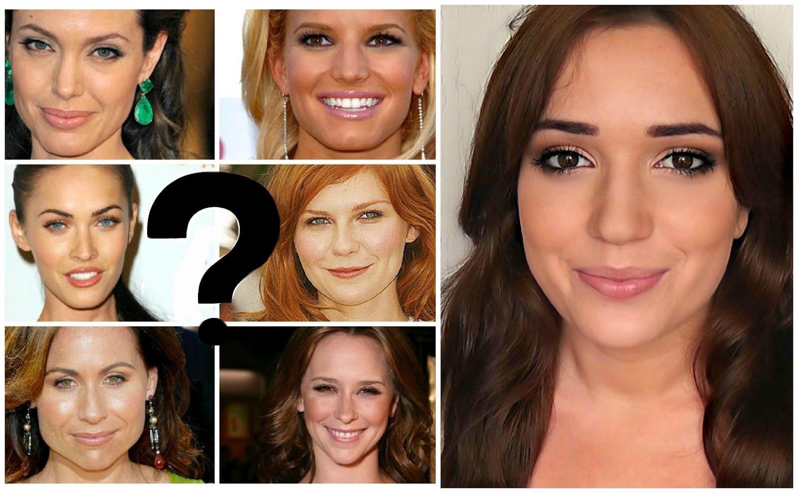 Themakeupchair Find Your Face Shape Quiz