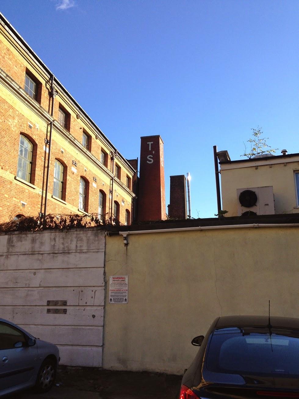 Spratt's Patent Limited dog food factory, Limehouse Cut, London