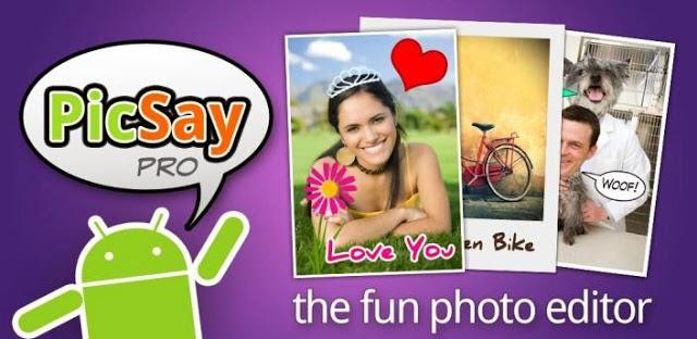 PicSay, editor de fotografías para tu android