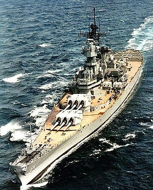 USS Wisconsin (BB-64) Battleships