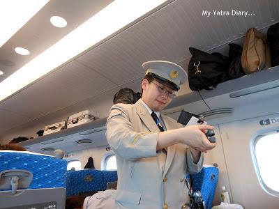 The Smiling Ticket Checker of Shinkansen