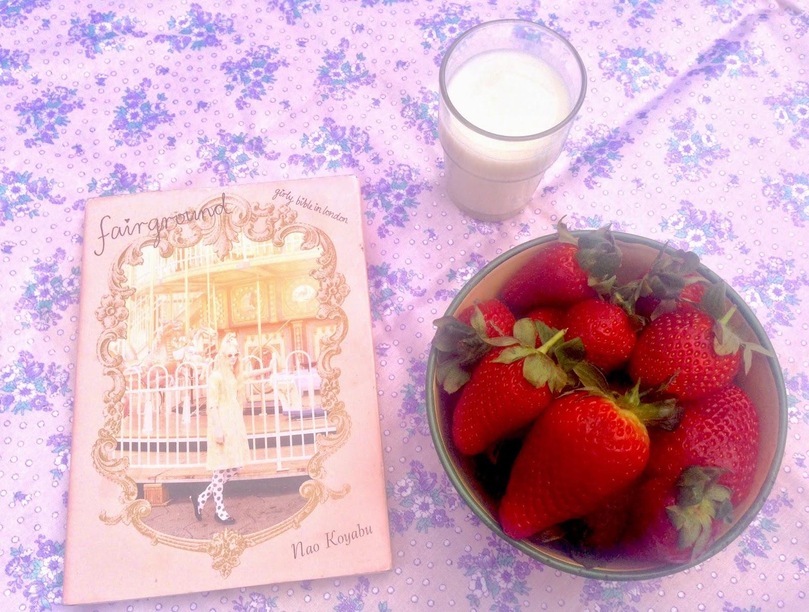 Strawberries & A Fairy Book