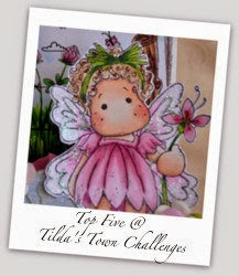 "TOP 5 at Tilda's Town - Chall #145 ""Use Dies and or Punches"""