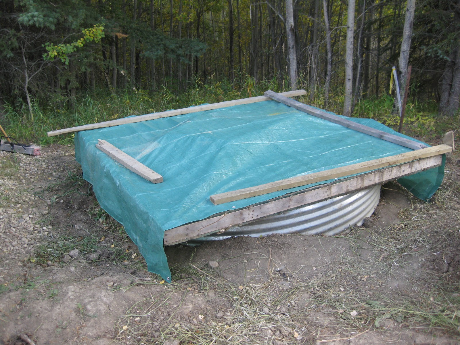 Simple man, simple plan.: Finally Done With the Underground Water Tank