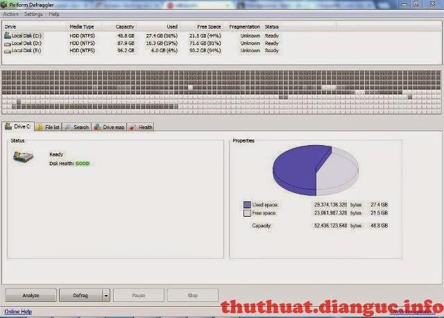 Download Defraggler 2.15.741 Final+Portable – Công cụ chống phân mảnh ổ cứng tốt nhất, mới nhất