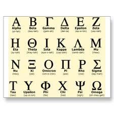 El alfabeto griego. Los griegos llamaron a esa región fértil del actual Irak=Mesopotamia