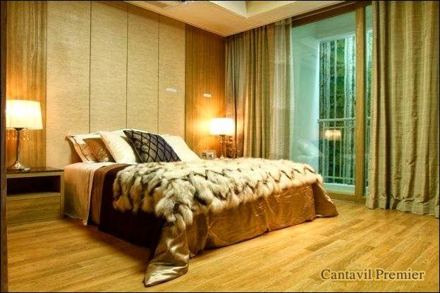 Phòng ngủ căn hộ Cantavil Premier