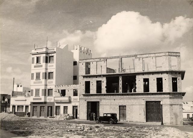 Imagen nº 14456 propiedad del archivo de fotografía histórica de la FEDAC/CABILDO DE GRAN CANARIA. realizada entre 1950 y 1960 por D. Julian Hernández Gil.