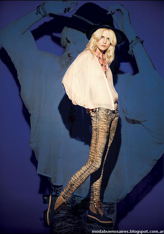 Blusas de moda otoño invierno 2014.