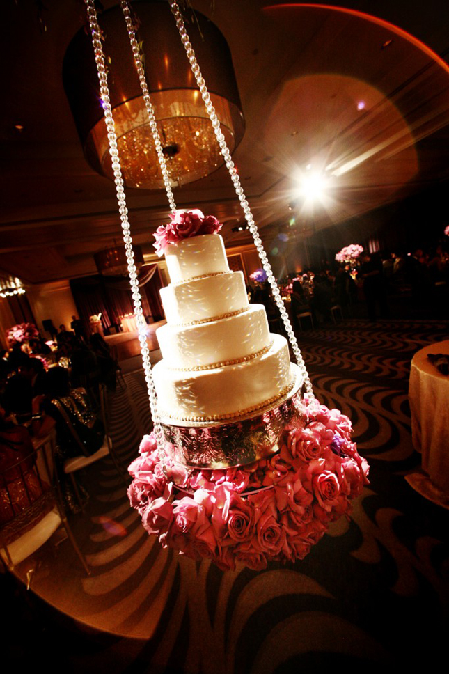 wedding cake display table ideas