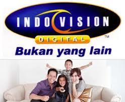 Paket promo pasang baru berlangganan Indovision TV