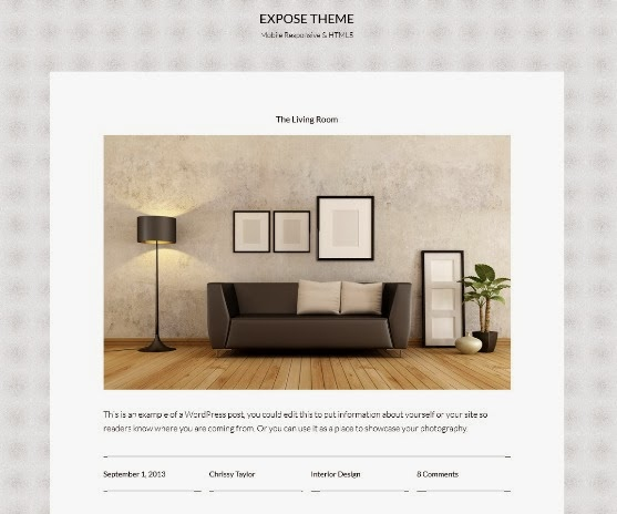 Expose Responsive WordPress Theme