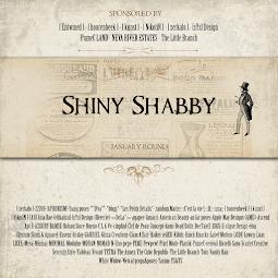Shiny Shabby Round