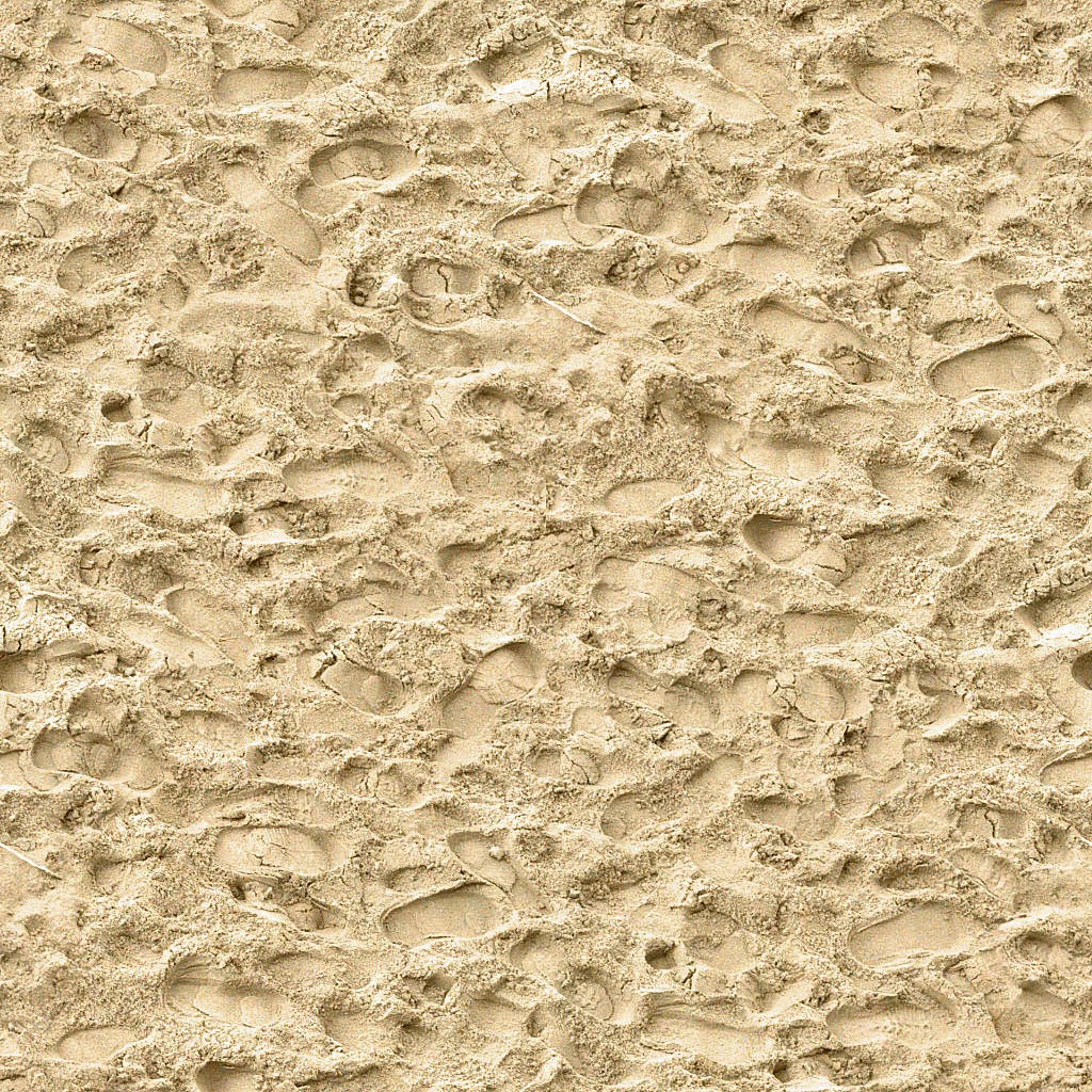 Seamless Beach Sand Footsteps Maps Texturise Free