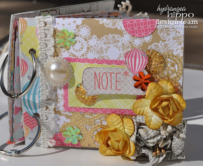 Nancy Keslin,Mini Album,shabby
