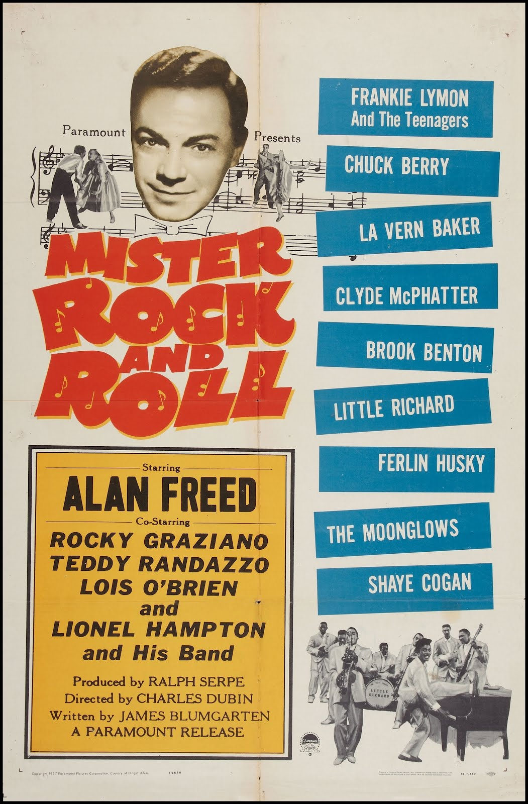 Ni rebeldes ni sin causa Mr.rock.and.roll-1957