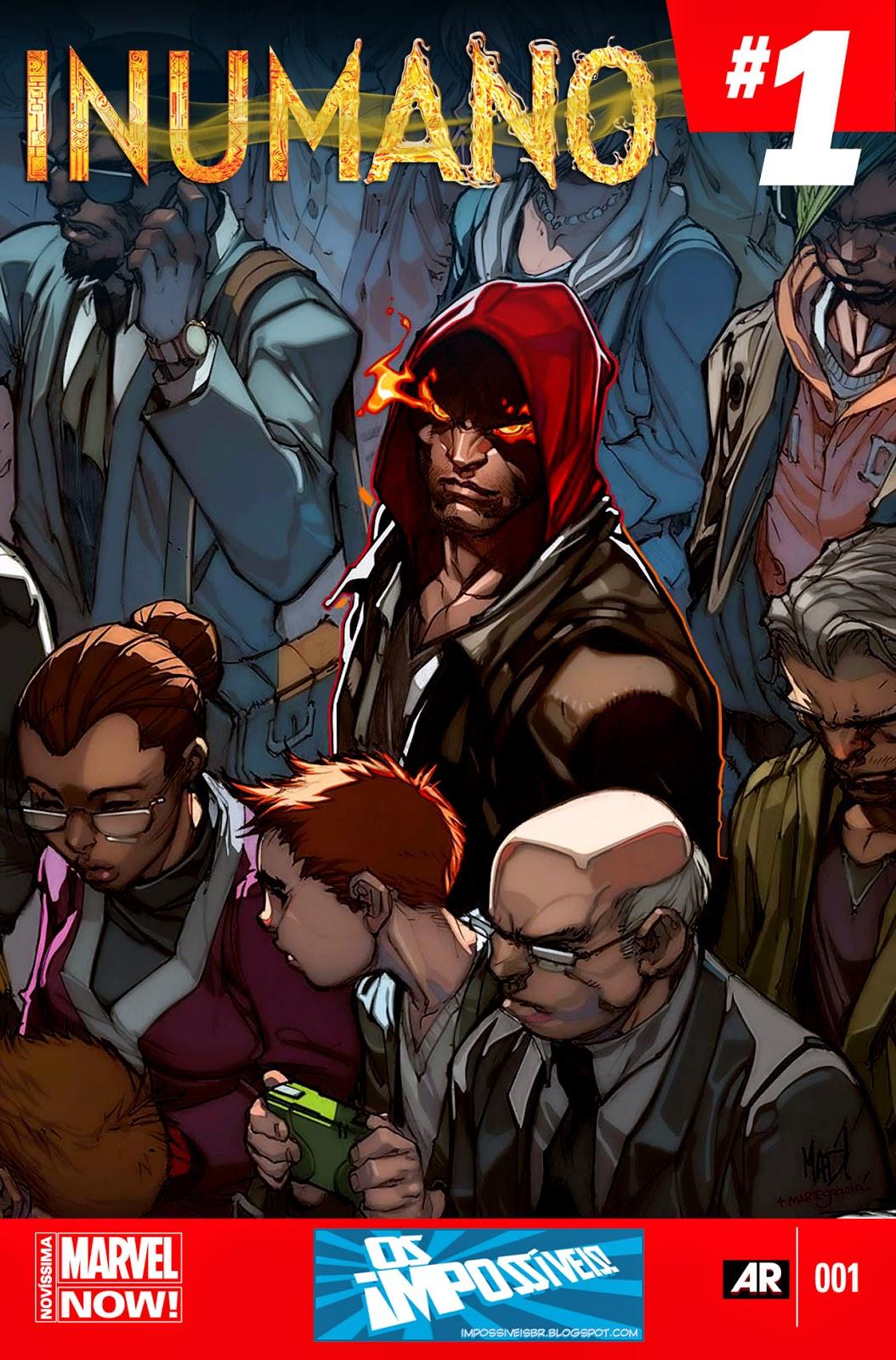 Nova Marvel! Inumano #1
