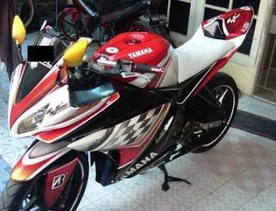 Yamaha New Vixion Airbrush
