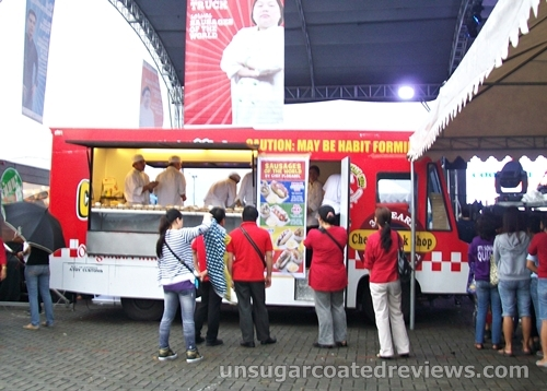 Red Truck, Chef Florabel Co at the Celebrity Chef Cook-off (Manila Food and Wine Festival 2013)