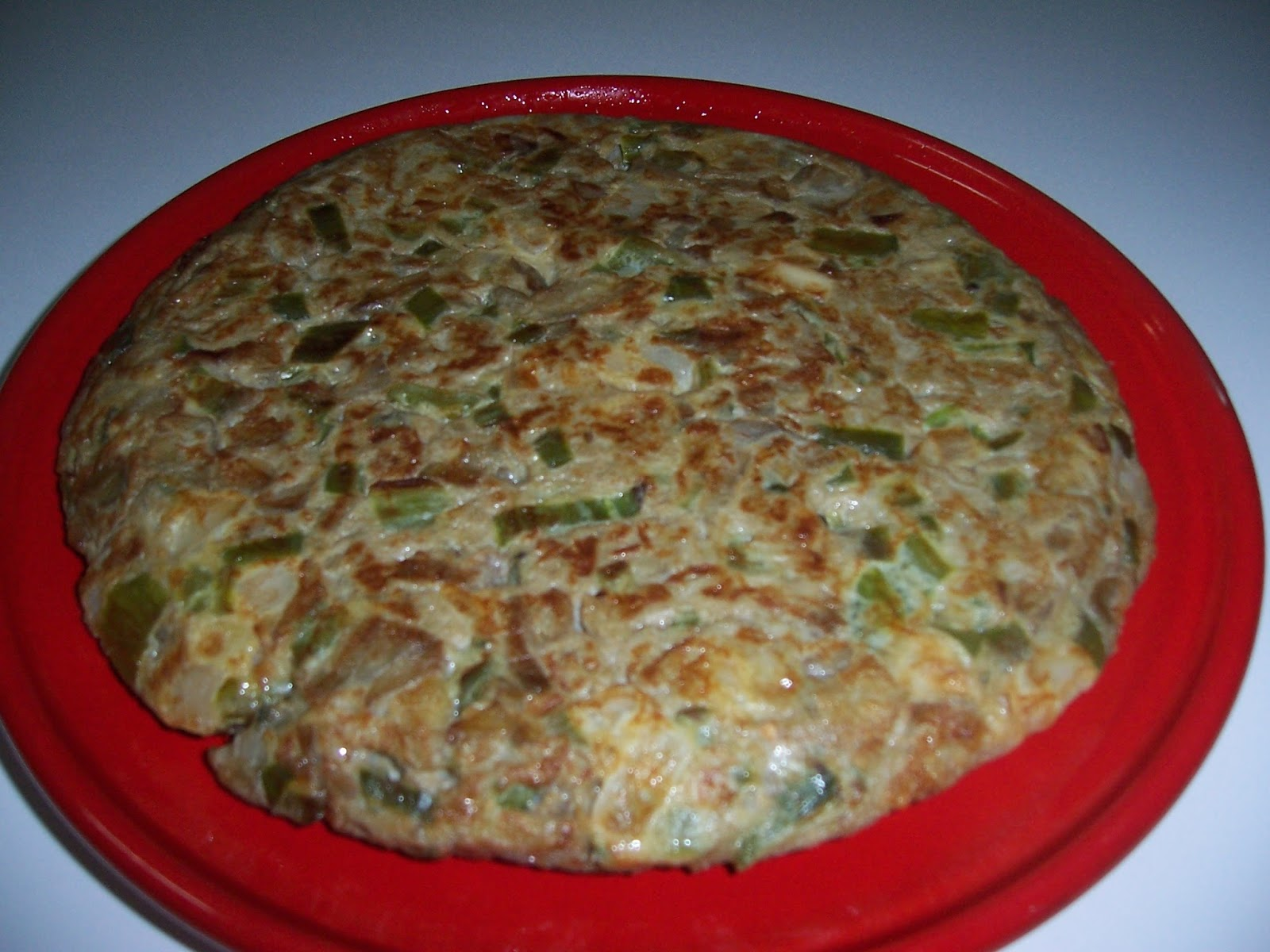 Pucheros de barro tortilla vegetariana - Pucheros de barro ...