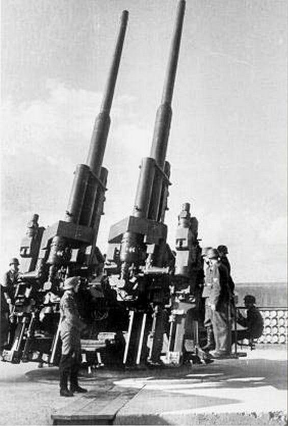 Berlin flaktower anti aircraft these bad boys were still in operation