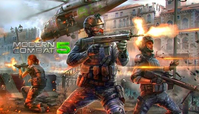 Modern Combat 5: Blackout v1.0.2f APK Mod