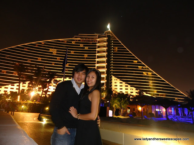 Jumeirah Beach hotel Christmas