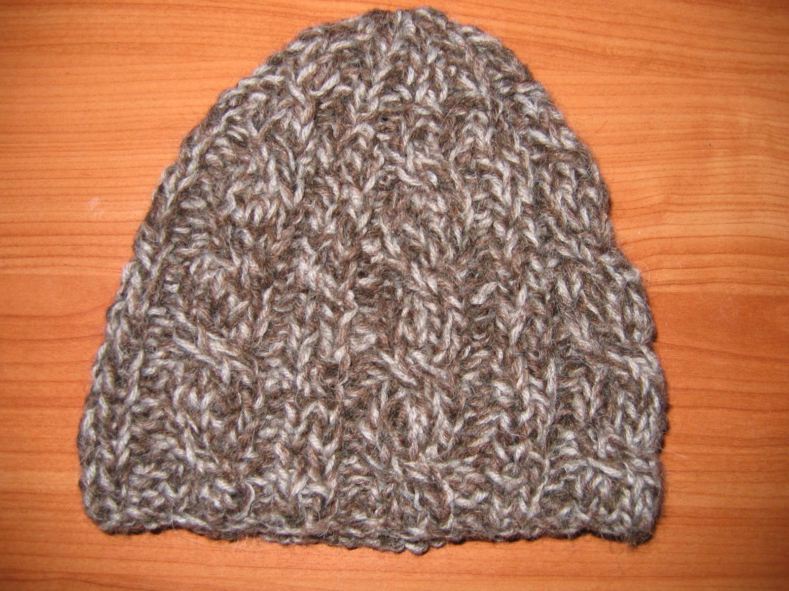 Je Tricote Un Bonnet En Laine Pour Homme Des Tricots