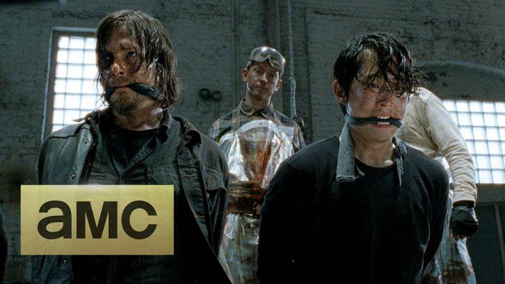 The walking dead season 5 comic con promo
