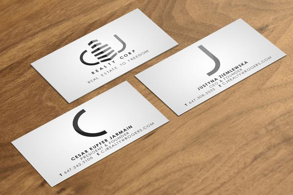 30 Best Examples of Real Estate Business Card Designs - Jayce-o-Yesta