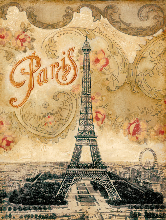 Depictions of Paris...  I Heart Shabby Chic