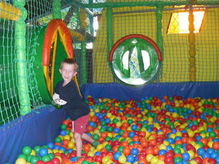 ball pit at pirate pete's